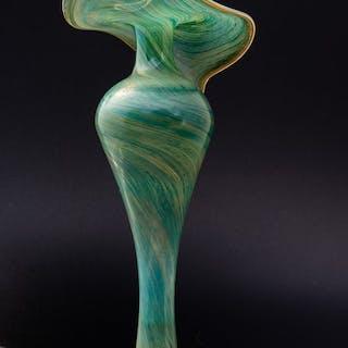 Joska Kristall - Elegante Vase - Höhe 29 cm - Glas