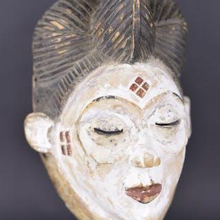Maske - Holz - Galerie Claude Vérité - Punu (oder Bapounou) - Gabun