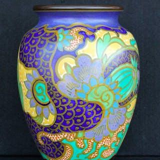 Henri Breetvelt - Plateelbakkerij Zuid-Holland- Vase