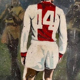 AJAX - Niederländische Fußball-Liga - Johan Cruijff - 2019 - Kunstwerk
