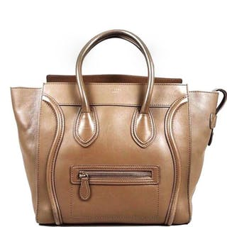 Céline- Luggage Micro Shopper Handbag