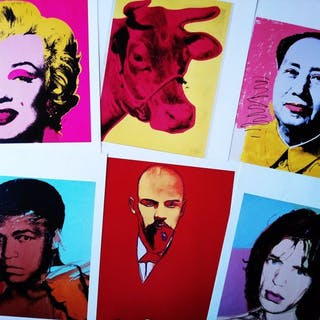 Andy Warhol - Collection of 40 lithographs (El Mundo)