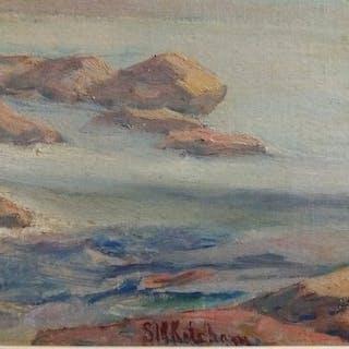 Susan Merrill Ketcham (1841-1929) - Frozen (Lake)