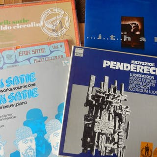 Erik Satie, Penderecki, Otto Ketting - LP Boxset, LP's - 1984/1986