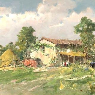 Romolo Leone (1883 - 1958) - Paesaggio
