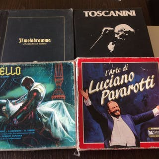 4 Classical Music Collections: 9 LP Il Melodramma – 10 LP...