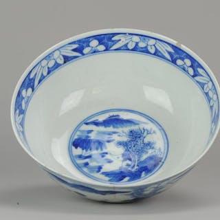 Schale - Porzellan - Kangxi marked bowl - China - Qing Dynastie (1644-1911)