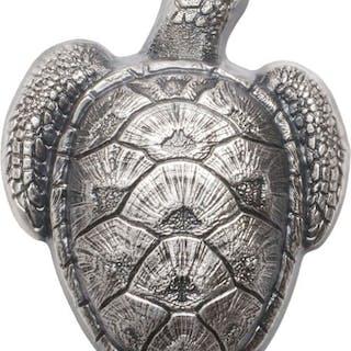 Palau - 10 Dollar 2017 - Sea turtle - 45g .999 - Argento
