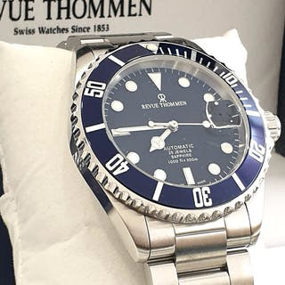 Revue Thommen - ETA 2824 Automatic Swiss Made - 25 Jewels...