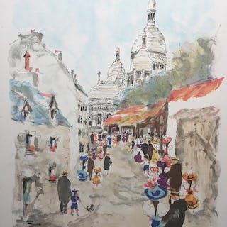 UrbainHuchet- Monuments de Paris - Montmartre