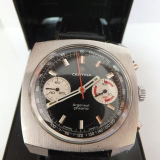 Certina - Argonaut Chrono - Cal. 29-053/23 Jewels - 8401001 - Men - 1960-1969