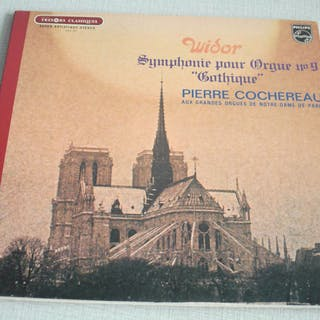 Collection of 14 LP's with Organ Music from Couperin /...
