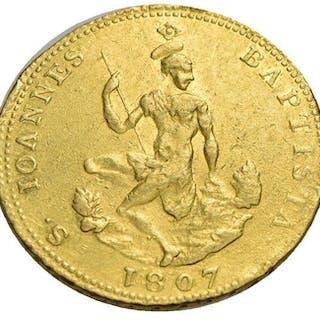 Italia - Granducato di Toscana - Ruspone 1807 - R2