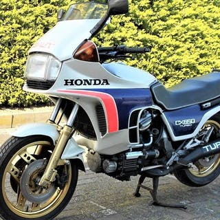 Honda - CX 650 Turbo - Pre-Production - Framenumber 2...