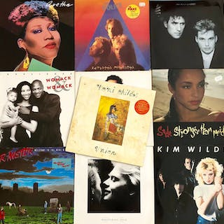 Various Artists/Bands in 1980's - Diverse Künstler - Lot...