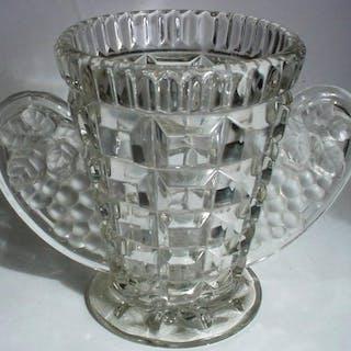 Art Deco Vase - Glas drücken