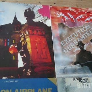 Jefferson Airplane, Rush - Diverse Künstler - Diverse Titel - LP's - 1980/1980