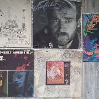 Pink Floyd, Santana - Diverse Künstler - Diverse Titel - LP's - 1969/1984