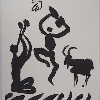 Pablo Picasso (d´après) - La danse des faunes