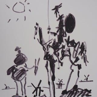 Pablo Picasso (d´après) - Don Quichotte