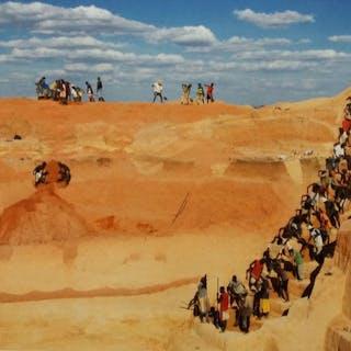 Pierrot Men (1954-)  - Mine de Saphir, Ilakaka, Madagascar, 2009