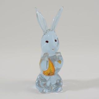 Antonio Da Ros - Cenedese - Rabbit figure - Glass