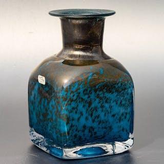 Bertil Vallien - Boda / Åfors - Frühe Vase - Höhe 14 cm - Glas