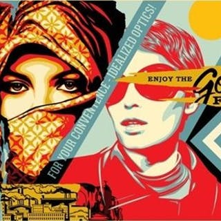 Shepard Fairey (OBEY) - Golden Future - Large Format