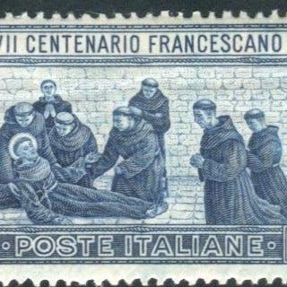 Italia Regno 1926 - San Francesco 1,25 cent