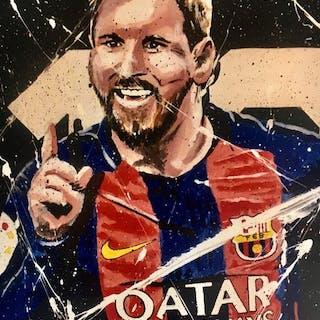 FC Barcelona - Spanische Fußball-Liga - Lionel Messi - 2019 - Kunstwerk