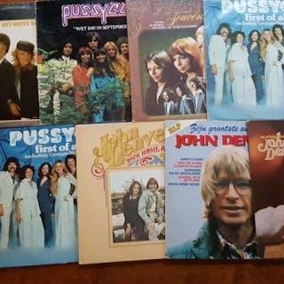 Pussycat and John Denver - 7 x LP albums and 2 x LP...