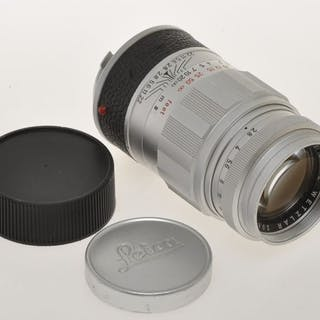 Leica (Leitz) , nice 90mm F:2.8 90/2.8 Elmarit with Leica M bayonet mount, exc++