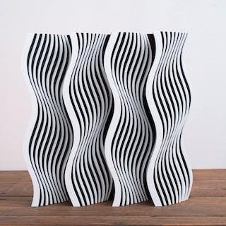 Gio Schiano - Scultura in plexiglass optical art - INFINITY