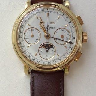 Ulysse Nardin - 18ct Gold Valjoux 88 - 521-22 - Herren - 1980-1989