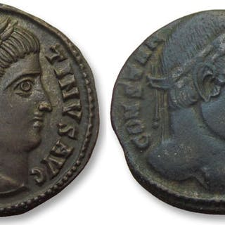 Roman Empire - Group of 2x AE folles