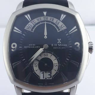 Bernhard H. Mayer - Retrograde Limited Edition - Men - 2011-present