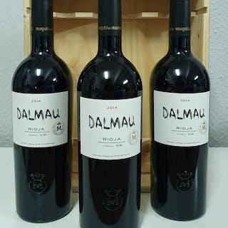 2014 Dalmau, Marques de Murrieta - La Rioja Reserva - 3 Flaschen (0,75 l)