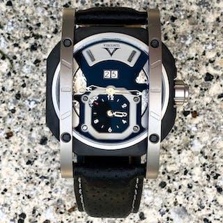 Visconti - GMT Grand Date Sport Titanium Scaffale Limited...