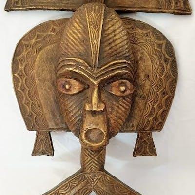 Reliquaire - Bois et cuivre - Kota- BWITI / MAHONGWE - Gabon