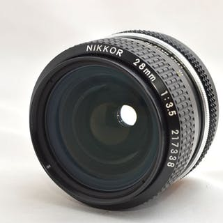 Nikon Ai 28mm f3.5 SLR 35mm Lens From Japan M84