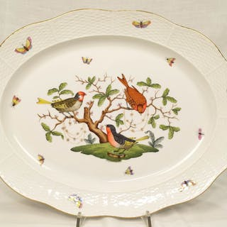 Rothschild bird - 101 / RO - Herend - Large serving plate cm