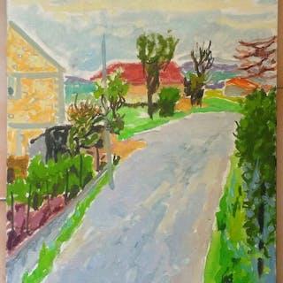 Jules Cavailles (1901-1977) - Chemin à vaux