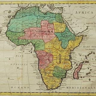 Afrika; CA Barbiellini / M di Pietro - Africa - 1807