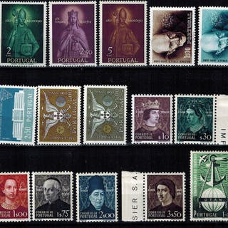 Portugal 1949/1960 - Lot of Complete Series