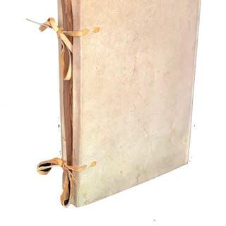 Jacopo Paganelli  - Manuscript; Vellum Register of Deeds...