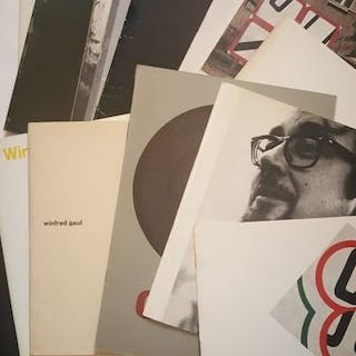 Winfred Gaul - Collection of 14 catalogues - 1958/1982