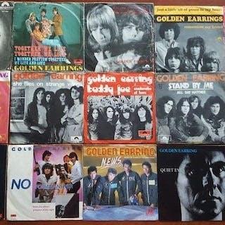 """The Golden Earring - 15 x 7"""" singles - Diverse Titel - 7″-Single - 1966/1989"""