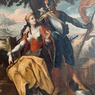 Scuola Italiana - Cavaliere e nobile