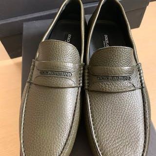 Dolce & Gabbana - Never Used -Leather- Zapatos mocasines PREMIUM - Talla: 43EU
