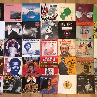 Disco; Soul; House; Funk; 80's; Excellent collection to...